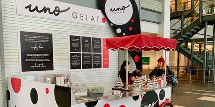 Uno Gelato takes flight at YVR
