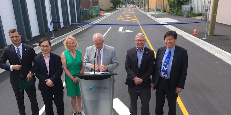 Lansdowne Road extension opened