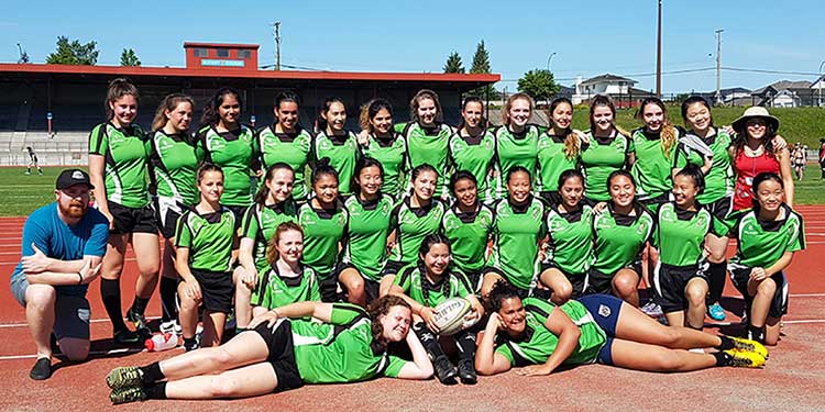 Strikers mine silver on BC rugby pitch
