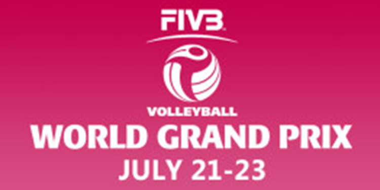 Oval hosting world volleyball Grand Prix July 21 to 23