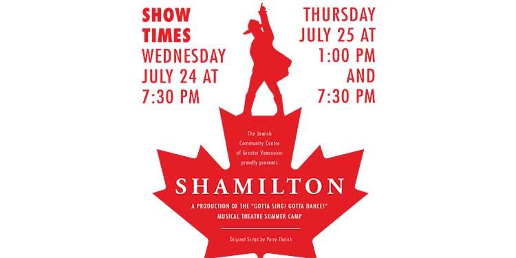 Gotta Sing! Gotta Dance! celebrating Shamilton