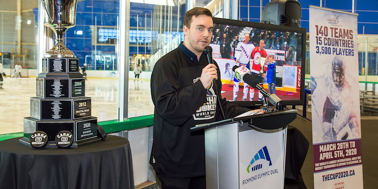 Hockey World Cup a year away from coming to Richmond