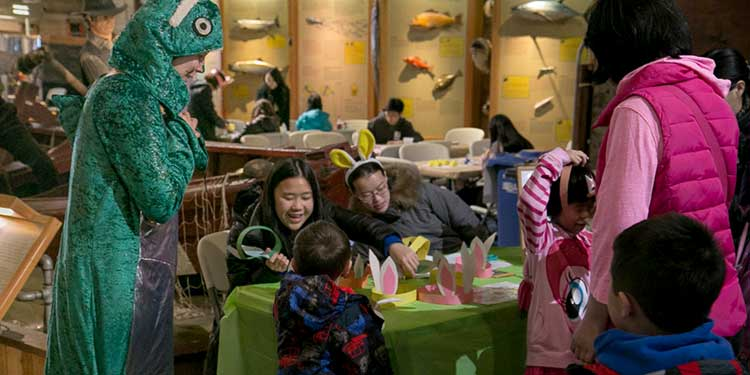 There's something fishy about the Easter fun at the Cannery