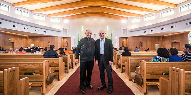 Plenty of old touches ring a bell in new church