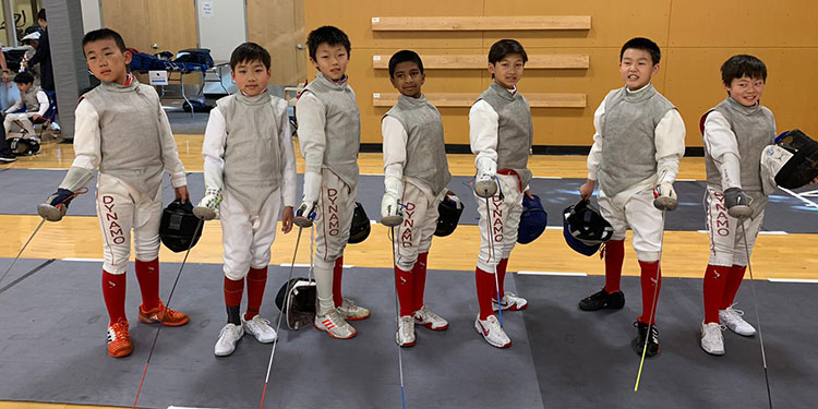 Potential unlimited for young Dynamo fencers