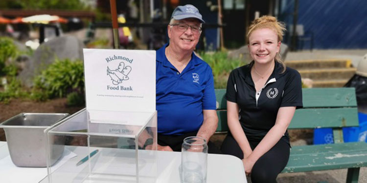 Mylora golfers support Richmond Food Bank