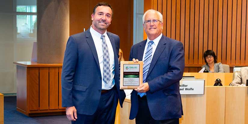 Environmental practice earns city award