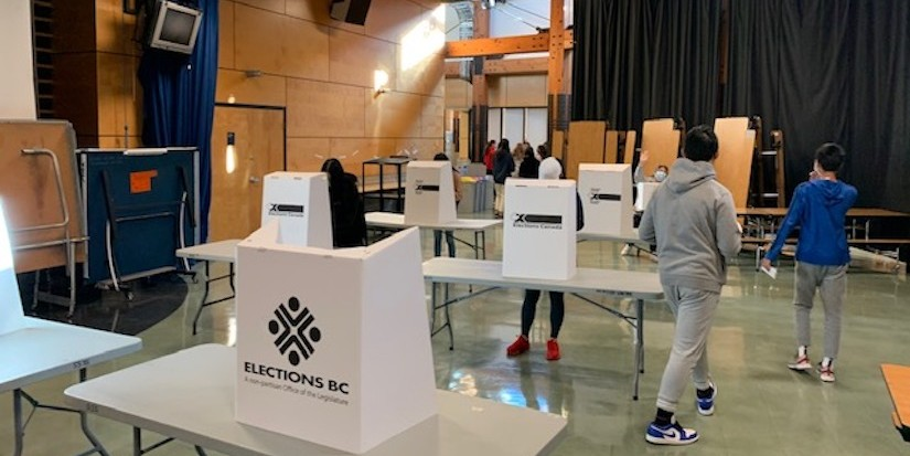 Steveston-London students learn about, practice voting