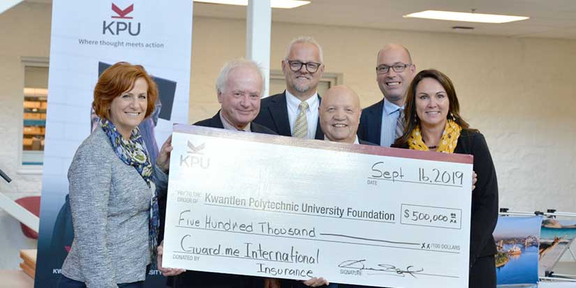 Donation helps international students at Kwantlen