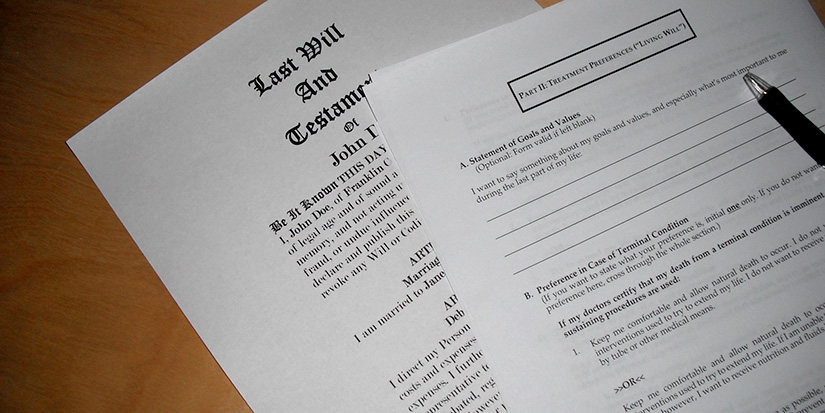 Government temporarily suspends in-person requirements for wills