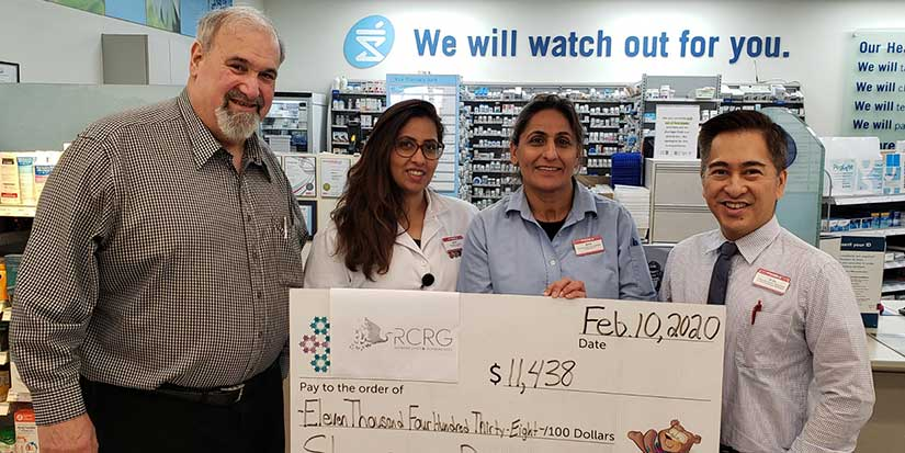 Shoppers Drug Mart donates to Family Caregiver Program
