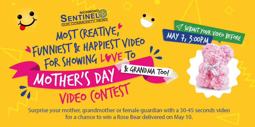 Richmond Sentinel Presents: Mother's Day & Grandma Too! Video Contest