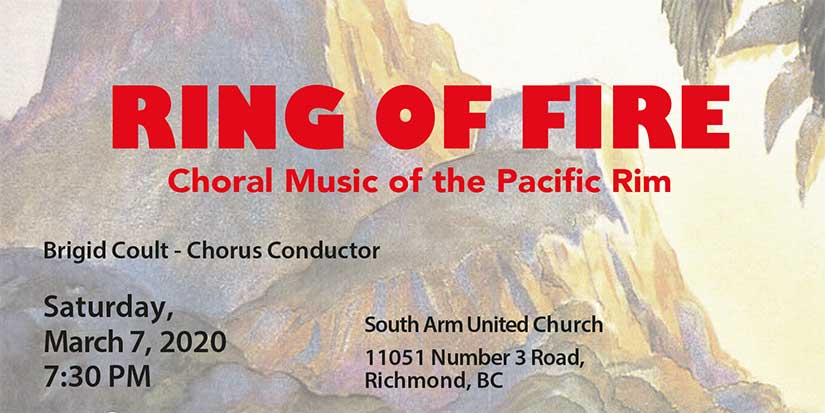 'Ring of Fire' celebrates choral music of the Pacific Rim