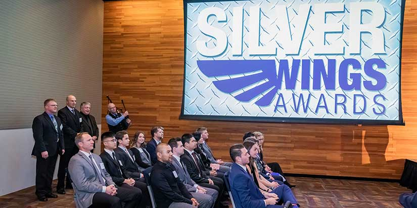 Flying high at the Silver Wings Awards