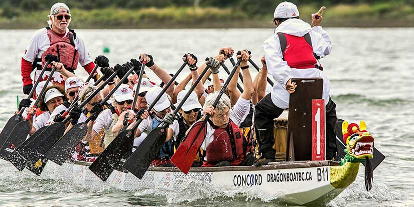 Dragon boat races attract record numbers