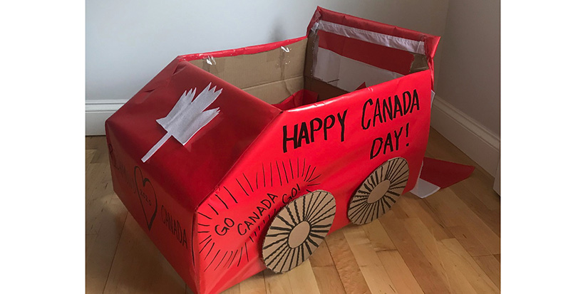 Share your photos of Canada Day at home