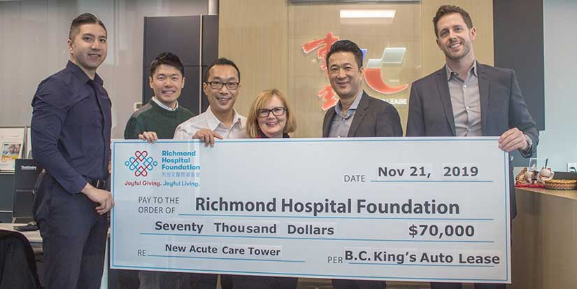 King's Auto Lease gives back