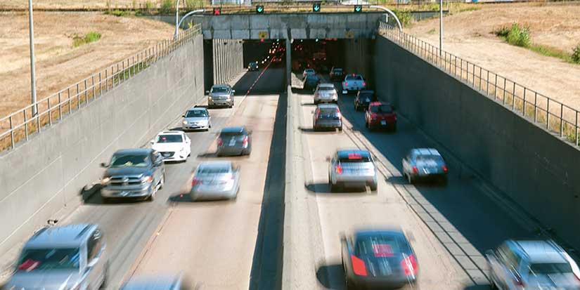 Massey Tunnel counterflow system experiencing issues