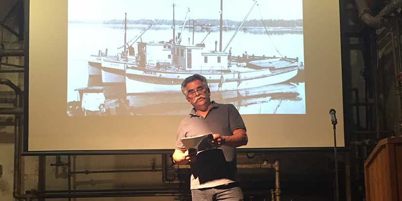 Rich menu for Culture Days: Gulf of Georgia Cannery offers fisher poets