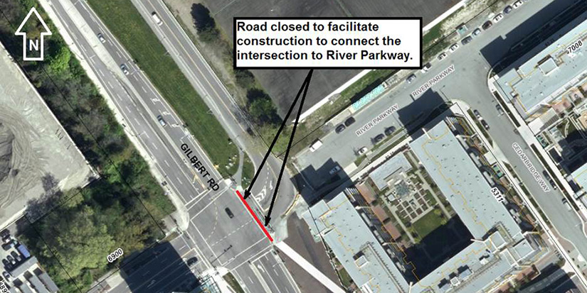 River Road to close for 24 hours July 15