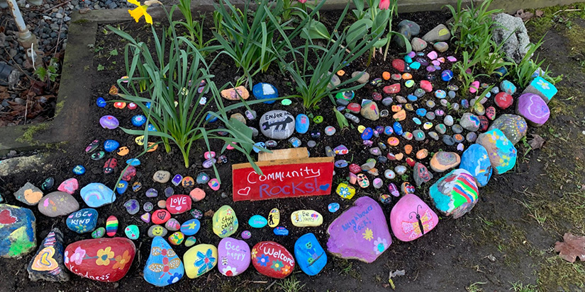 Community rock painting project unites Richmond