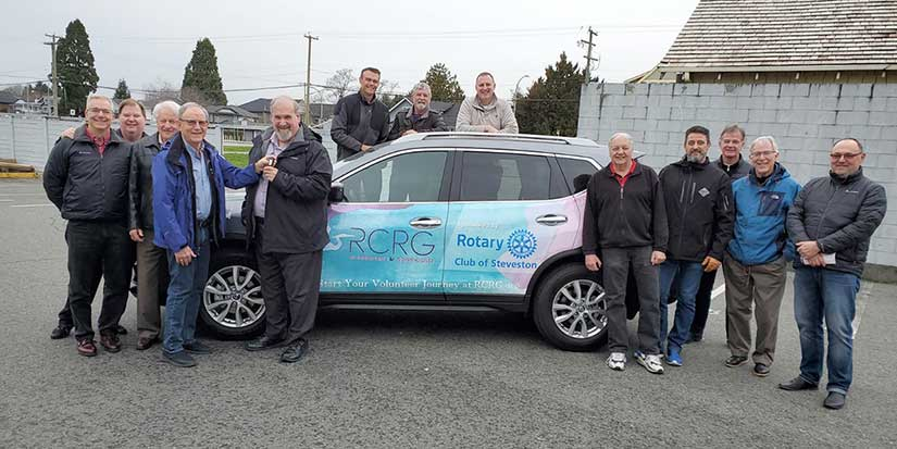 Rotary Club of Steveston helps charity get on the road again