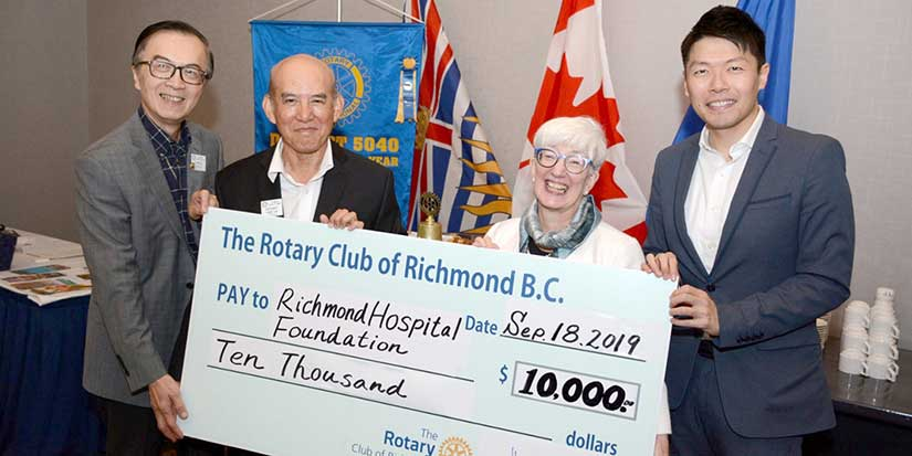 Rotary donates to Hospital Foundation