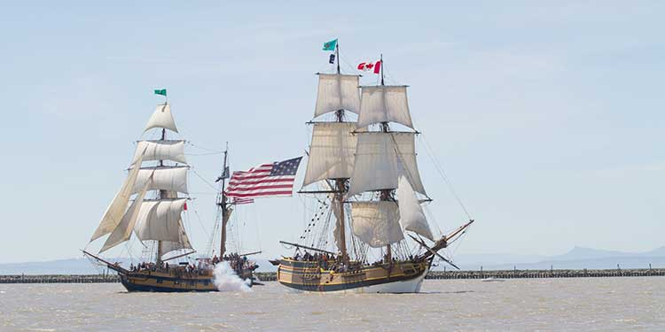 Take to the high seas July 27 and 28 at Britannia