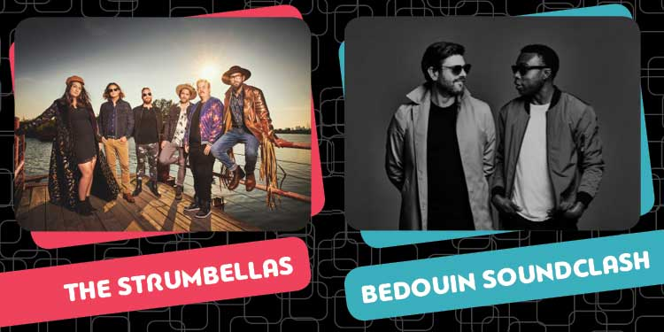 The Strumbellas, Bedouin Soundclash to headline World Fest