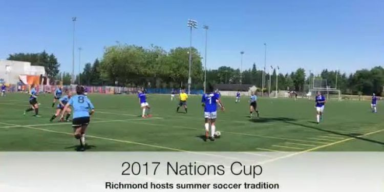 Ireland and Italy won the women's and men's open division titles respectively at the 38th annual Nations Cup soccer tournament July 17 in Richmond.