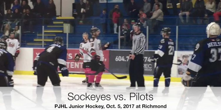 After shoring up their blue line this week, the Richmond Sockeyes—wearing pink socks throughout October in support of breast cancer research—promptly went out and won back-to-back games over Aldergrove and Abbotsford.