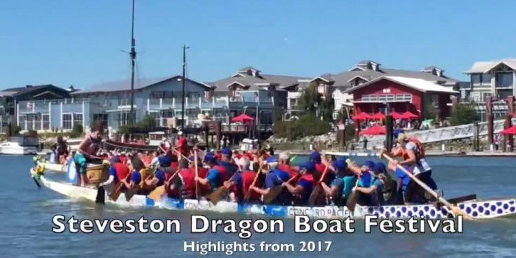 Dragon boats return on Saturday. The Steveston Dragon Boat Festival is back this Saturday (Aug. 25) on the shores of the Fraser River. In 2017, upwards of 20,000 festival goers covered at the Imperial Landing Park to watch some 1,500 paddlers compete on 72 teams.