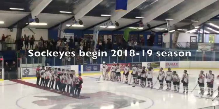 Sockeyes back on ice. Richmond Sockeyes kicked off their 2018-19 junior hockey season Thursday, playing to a 2-2 overtime draw versus Delta Ice Hawks.