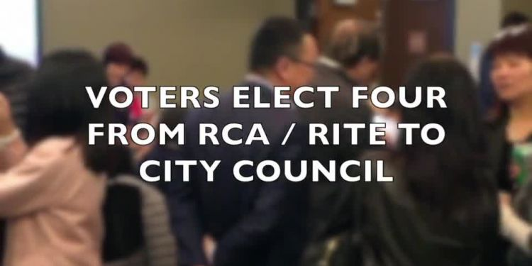 Richmond voters elected four candidates from the Richmond Citizens Association—Richmond Independent Team of Electors coalition to city council Saturday.
