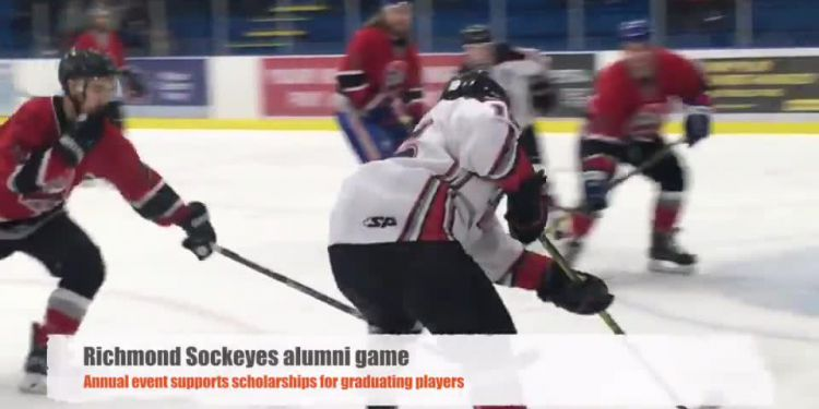 Sockeyes Alumni Game. Every year, Richmond Sockeyes play their alumni in an exhibition game supporting the team's scholarship fund for graduating players. To date, more than $236,000 has been raised to assist post-secondary studies.