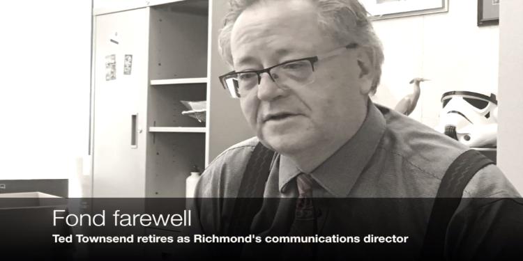 Townsend bids Richmond adieu