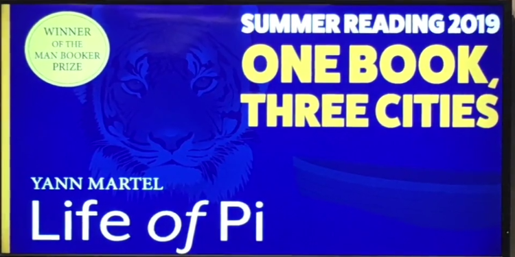 'Life of Pi' opens world of reading